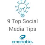 9 Top Social Media Tips