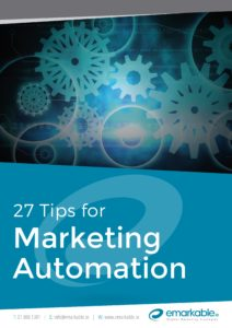 27 Top Tips for Marketing Automation