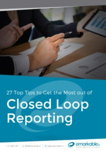27 Top Tips to Get the Most out of Closed Loop Reporting
