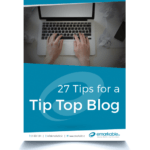 Tips for a TipTop Blog