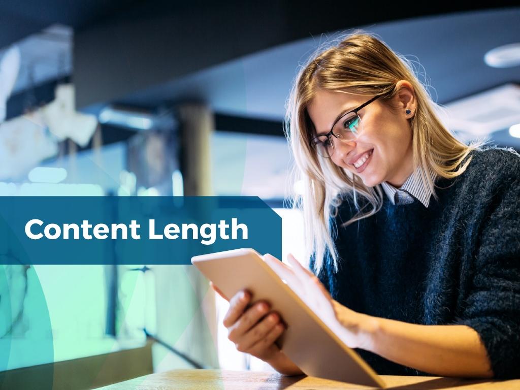 SEO Metrics Content Length