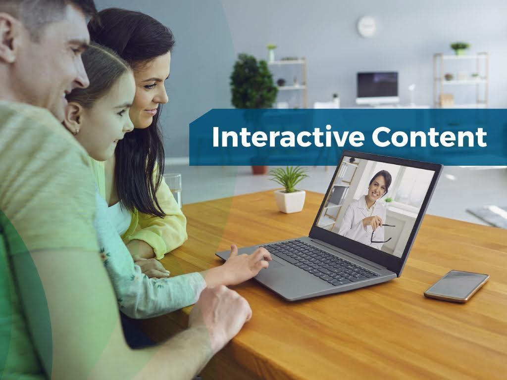 Marketing trends interactive content