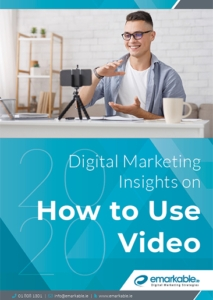 Digital Marketing Insights on how to use Video