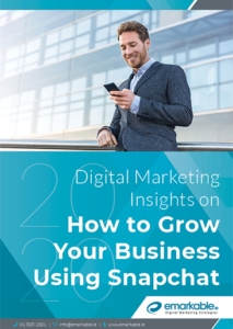 Digital Marketing Insights on How to Grow Your Business Using Snapchat